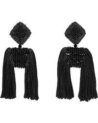 Sachin & Babi - Noir Dupio Short Tassel Drop Earrings - Lyst