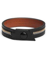 Want Les Essentiels De La Vie - 'tambo' Zip Bracelet - Lyst
