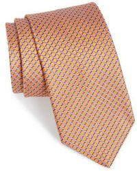 John W. Nordstrom - John W. Nordstrom 'raine Mini' Geo Print Silk Tie - Lyst