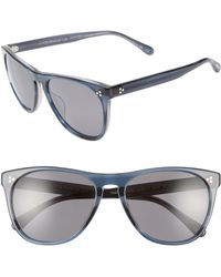 10aa9317a6 Lyst - Oliver Peoples Daddy B Mens Clear Acetate Sunglasses for Men