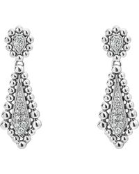 Lagos - Caviar Spark Diamond Earrings - Lyst