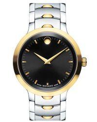 Movado - 'luno' Bracelet Watch - Lyst