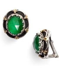 Konstantino | Semiprecious Stone Clip Earrings | Lyst