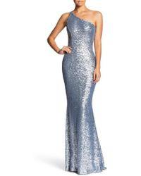 Dress the Population   Bella One-shoulder Mermaid Gown   Lyst