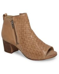 Naughty Monkey - Cacey Open Toe Bootie - Lyst