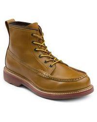 G.H.BASS - 'ashby' Moc Toe Boot - Lyst