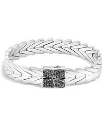 John Hardy - Modern Chain Lava Bracelet - Lyst