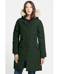 Canada Goose kensington parka outlet cheap - Shop Women's Canada Goose Coats | Lyst