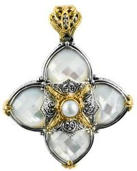 Konstantino - Cross Pendant - Lyst