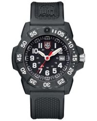 Luminox - Navy Seal Trident 3500 Silicone Strap Watch - Lyst