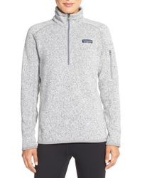 Patagonia - Better Sweater Zip Pullover - Lyst