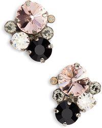 Sorrelli - Crystal Earrings - Lyst