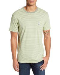 Psycho Bunny - Tamar Stripe Pocket T-shirt - Lyst