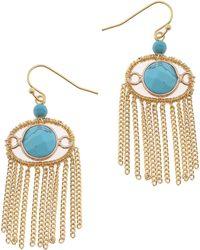 Nakamol - Fringe Earrings - Lyst