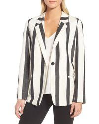 Trouvé - Stripe Blazer - Lyst