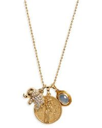 Melinda Maria - Goddess Of Prosperity Pendant Necklace - Lyst