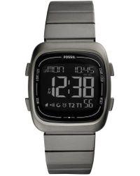 Fossil - Rutherford Digital Bracelet Watch - Lyst