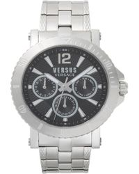 Versus - Versus By Versace Steenberg Multifunction Bracelet Watch - Lyst