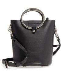 Rebecca Minkoff | Ring Leather Bucket Bag | Lyst