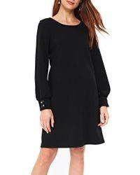Wallis   Blouson Sleeve A-line Dress   Lyst
