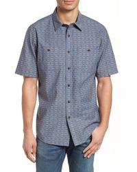 Pendleton - Short Sleeve Chambray Shirt - Lyst