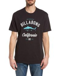 Billabong - Ca Reeler Graphic T-shirt - Lyst