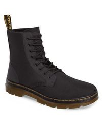 Dr. Martens - 'combs' Plain Toe Boot - Lyst