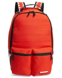Sprayground - Red Cargo Shark Backpack - - Lyst