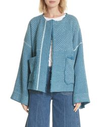 Elizabeth and James - Hayden Wrap Jacket - Lyst