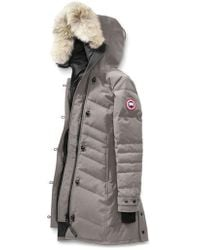 Canada Goose - Lorette Fusion Fit Hooded Down Parka With Genuine Coyote Fur Trim - Lyst