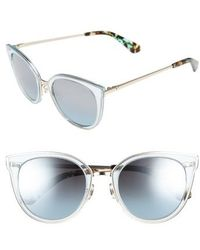 Kate Spade   Jazzlyn 51mm Cat Eye Sunglasses   Lyst