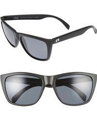 Rheos Gear - Sapelos Floating 61mm Polarized Sunglasses - Gunmetal/ Gunmetal - Lyst