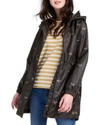 Joules - Golightly Waterproof Pack-away Womens Parka (x) - Lyst