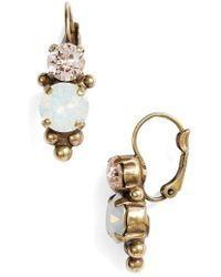 Sorrelli - Ornate Crystal Rounds Drop Earrings - Lyst