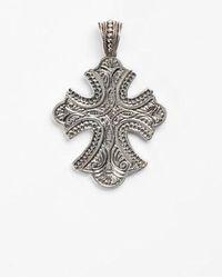 Konstantino - 'classics' Cross Pendant Necklace - Lyst