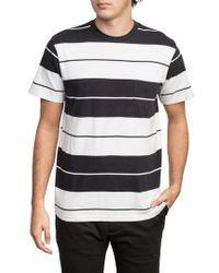 RVCA - Ellis Stripe Pocket T-shirt - Lyst