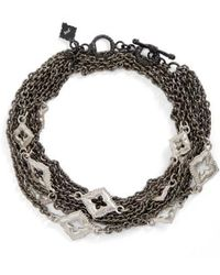 Armenta - New World Double Wrap Scroll Bracelet - Lyst