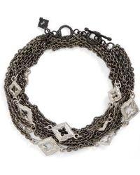 Armenta | New World Double Wrap Scroll Bracelet | Lyst