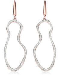 Monica Vinader - Riva Pod Diamond Cocktail Earrings - Lyst