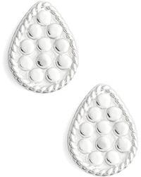 Anna Beck - Mini Teardrop Stud Earrings - Lyst