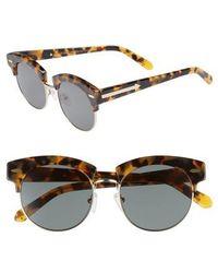 Karen Walker - The Constable 51mm Sunglasses - Crazy Tortoise - Lyst