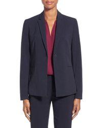 T Tahari - Jolie Stretch Woven Suit Jacket - Lyst
