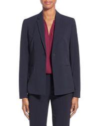 T Tahari | Jolie Stretch Woven Suit Jacket | Lyst