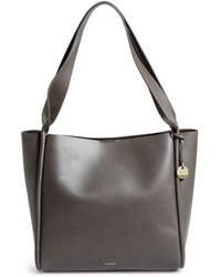Skagen - Karalie Leather Shoulder Bag - Lyst