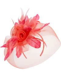 Tasha - Rose & Feather Fascinator - Lyst