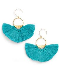 Serefina - Flutter Tassel Earrings - Lyst