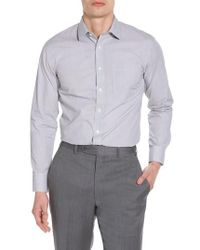 Nordstrom - Trim Fit Non-iron Check Dress Shirt - Lyst