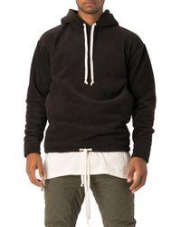 Zanerobe - Polar Rugger Hood Sweatshirt - Lyst