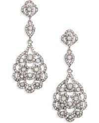 Nina - 'eiffel' Statement Drop Earrings - Lyst