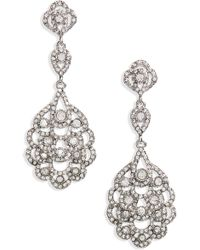 Nina - 'eiffel' Statement Drop Earrings - Lyst